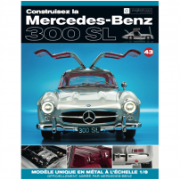 Macheta Mercedes-Benz 300SL Gullwing nr.43 - kit construibil - EAGLEMOSS COLLECTION
