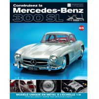 Macheta Mercedes-Benz 300SL Gullwing nr.65 - kit construibil - EAGLEMOSS COLLECTION