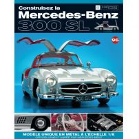 Macheta Mercedes-Benz 300SL Gullwing nr.96 - kit construibil - EAGLEMOSS COLLECTION