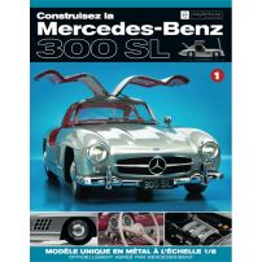 Macheta Mercedes-Benz 300SL Gullwing nr.1 - kit construibil - EAGLEMOSS COLLECTION