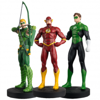 Set 3 figurine Justice League: FLASH, ARROW & GREEN LANTERN