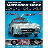 Macheta Mercedes-Benz 300SL Gullwing nr.86 - kit construibil - EAGLEMOSS COLLECTION