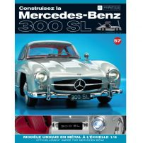 Macheta Mercedes-Benz 300SL Gullwing nr.57 - kit construibil - EAGLEMOSS COLLECTION
