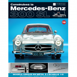Macheta Mercedes-Benz 300SL Gullwing nr.19 - kit construibil - EAGLEMOSS COLLECTION