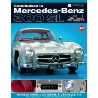 Macheta Mercedes-Benz 300SL Gullwing nr.97 - kit construibil - EAGLEMOSS COLLECTION