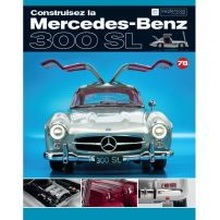 Macheta Mercedes-Benz 300SL Gullwing nr.78 - kit construibil - EAGLEMOSS COLLECTION