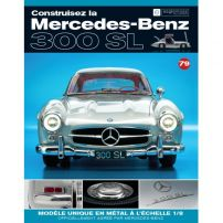 Macheta Mercedes-Benz 300SL Gullwing nr.79 - kit construibil - EAGLEMOSS COLLECTION