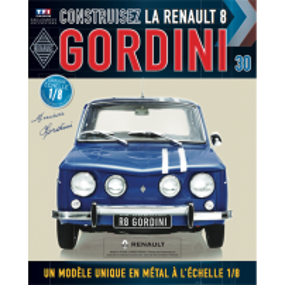 Macheta Renault R8 GORDINI EAGLEMOSS scara 1:8  nr.30 - kit construibil
