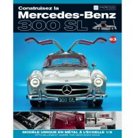 Macheta Mercedes-Benz 300SL Gullwing nr.63 - kit construibil - EAGLEMOSS COLLECTION