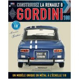 Macheta Renault R8 GORDINI EAGLEMOSS scara 1:8 nr.100 - kit construibil