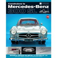 Macheta Mercedes-Benz 300SL Gullwing nr.74 - kit construibil - EAGLEMOSS COLLECTION