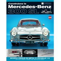 Macheta Mercedes-Benz 300SL Gullwing nr.69 - kit construibil - EAGLEMOSS COLLECTION