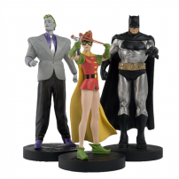 Set de 3 figurine din seria Batman: The Dark Knight Returns - Cavalerul intunericului se intoarce