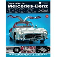 Macheta Mercedes-Benz 300SL Gullwing nr.61 - kit construibil - EAGLEMOSS COLLECTION