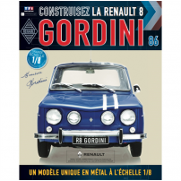 Macheta Renault R8 GORDINI EAGLEMOSS scara 1:8  nr.86 - kit construibil