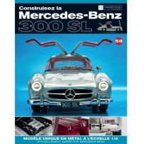 Macheta Mercedes-Benz 300SL Gullwing nr.58 - kit construibil - EAGLEMOSS COLLECTION