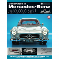 Macheta Mercedes-Benz 300SL Gullwing nr.49 - kit construibil - EAGLEMOSS COLLECTION