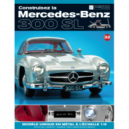 Macheta Mercedes-Benz 300SL Gullwing nr.32 - kit construibil - EAGLEMOSS COLLECTION