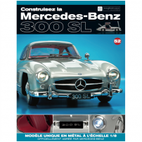Macheta Mercedes-Benz 300SL Gullwing nr.52 - kit construibil - EAGLEMOSS COLLECTION