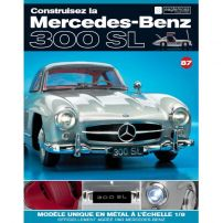Macheta Mercedes-Benz 300SL Gullwing nr.87 - kit construibil - EAGLEMOSS COLLECTION