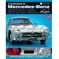 Macheta Mercedes-Benz 300SL Gullwing nr.72 - kit construibil - EAGLEMOSS COLLECTION