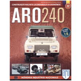Macheta ARO 240 kit construibil Eaglemoss nr. 22