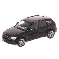 Audi Q5 (8R) 2016, macheta auto, scara 1:24, negru, window box, Welly