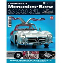 Macheta Mercedes-Benz 300SL Gullwing nr.56 - kit construibil - EAGLEMOSS COLLECTION