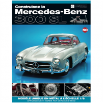 Macheta Mercedes-Benz 300SL Gullwing nr.50 - kit construibil - EAGLEMOSS COLLECTION