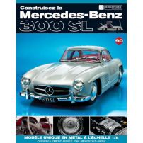Macheta Mercedes-Benz 300SL Gullwing nr.90 - kit construibil - EAGLEMOSS COLLECTION