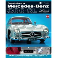 Macheta Mercedes-Benz 300SL Gullwing nr.67 - kit construibil - EAGLEMOSS COLLECTION