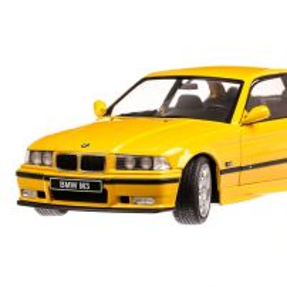 BMW E36 Coupe M3 1994, macheta auto, scara 1:18, galben, Solido