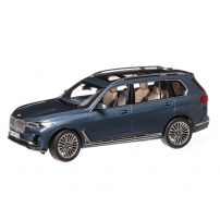 BMW X7 2019, macheta auto scara 1:18, albastru metalizat, Dealer BMW