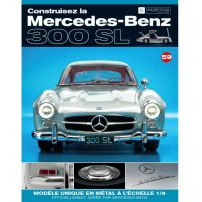 Macheta Mercedes-Benz 300SL Gullwing nr.59 - kit construibil - EAGLEMOSS COLLECTION