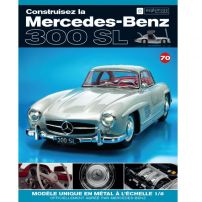 Macheta Mercedes-Benz 300SL Gullwing nr.70 - kit construibil - EAGLEMOSS COLLECTION