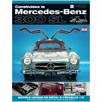 Macheta Mercedes-Benz 300SL Gullwing nr.53 - kit construibil - EAGLEMOSS COLLECTION