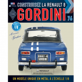 Macheta Renault R8 GORDINI EAGLEMOSS scara 1:8  nr.76 - kit construibil