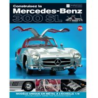 Macheta Mercedes-Benz 300SL Gullwing nr.76 - kit construibil - EAGLEMOSS COLLECTION