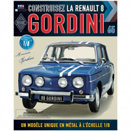 Macheta Renault R8 GORDINI EAGLEMOSS scara 1:8  nr.65 - kit construibil