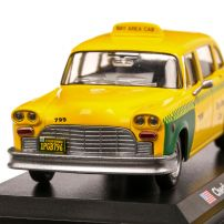 Checker A11-A12 San Francisco 1980, macheta Taxi, scara 1:43, galben cu verde, Atlas