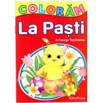 Coloram la Pasti - Carte de colorat