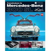 Macheta Mercedes-Benz 300SL Gullwing nr.73 - kit construibil - EAGLEMOSS COLLECTION