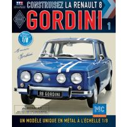 Macheta Renault R8 GORDINI EAGLEMOSS scara 1:8  nr.1 - kit construibil