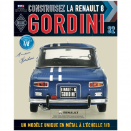 Macheta Renault R8 GORDINI EAGLEMOSS scara 1:8  nr.32 - kit construibil
