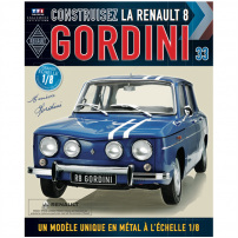 Macheta Renault R8 GORDINI EAGLEMOSS scara 1:8  nr.33 - kit construibil
