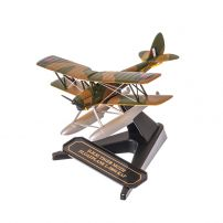 De Havilland DH.82 Tiger Moth Floatplane L-5894 RAF 1941, macheta avion scara 1:72, camuflaj, Oxford