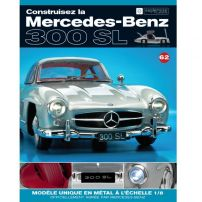 Macheta Mercedes-Benz 300SL Gullwing nr.62 - kit construibil - EAGLEMOSS COLLECTION