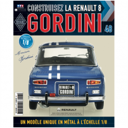Macheta Renault R8 GORDINI EAGLEMOSS scara 1:8  nr.48 - kit construibil