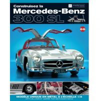 Macheta Mercedes-Benz 300SL Gullwing nr.66 - kit construibil - EAGLEMOSS COLLECTION