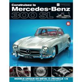 Macheta Mercedes-Benz 300SL Gullwing nr.5 - kit construibil - EAGLEMOSS COLLECTION